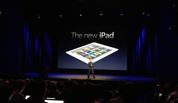 "Apple Announces ""The New iPad"" and Apple TV Part 1"