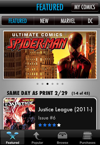 ComiXology AAW