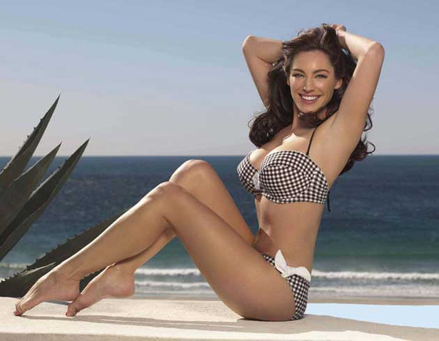 Kelly Brook Was Born to Sell Bikinis