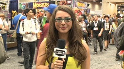 Comic-Con 2013: Aaron Eckhart & Seth Meyers