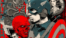 Amazingly Rad Mondo Posters for Captain America: The First Avenger