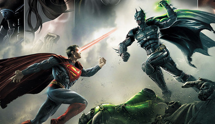 DC Heroes Face Off In Immortal Combat