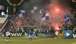 Did you Hear the One About the Polish Soccer Fans Who Brought Pyrotechnics to a Youth Soccer Game?