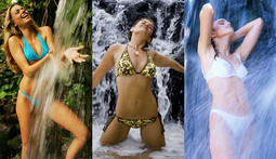 Bikini Poll of the Week: Girls and Waterfalls - Sponsored by Poison Ivy: The Secret Society