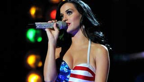 Katy Perry Supports the Troops