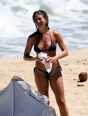 Jennifer Aniston's Bikini Days