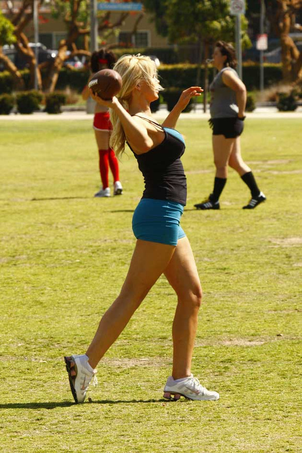 Lingerie Bowl Tryouts