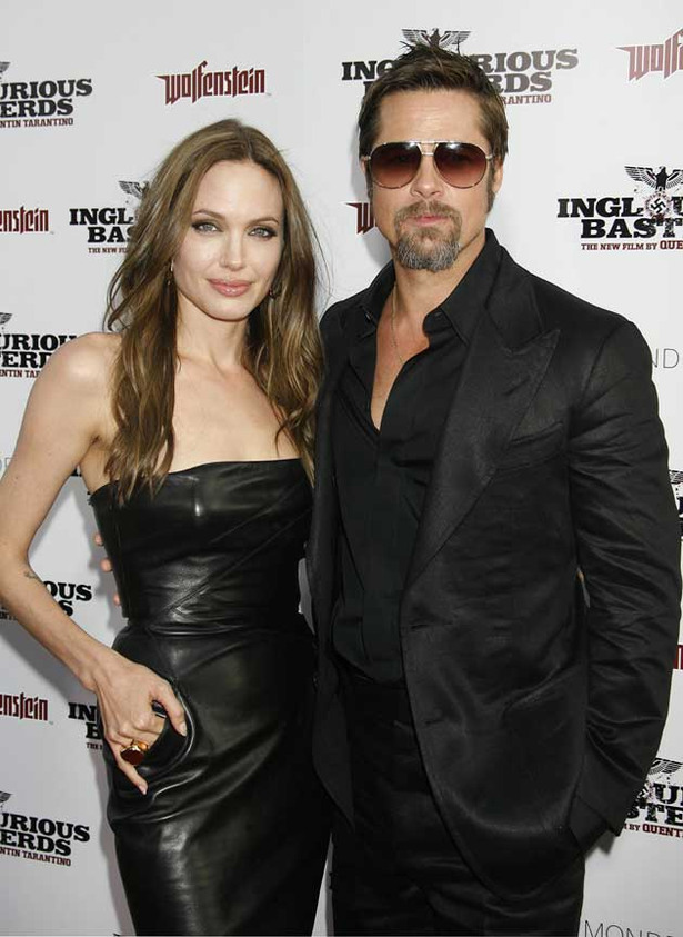 Angelina is Glorious and Brad Pitt's a Basterd