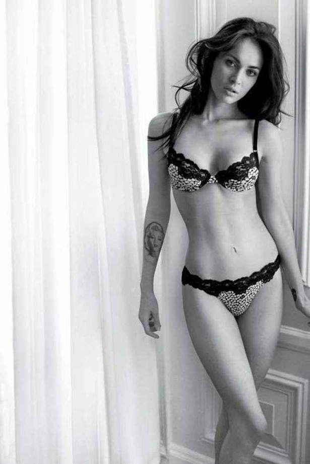 Megan Fox Gets Her Knickers On Again for Armani
