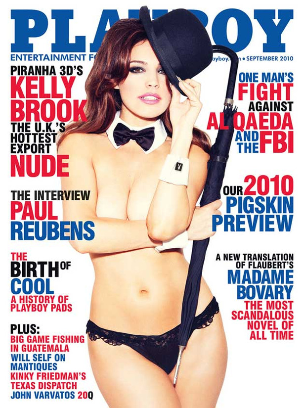 Kelly Brook for Playboy