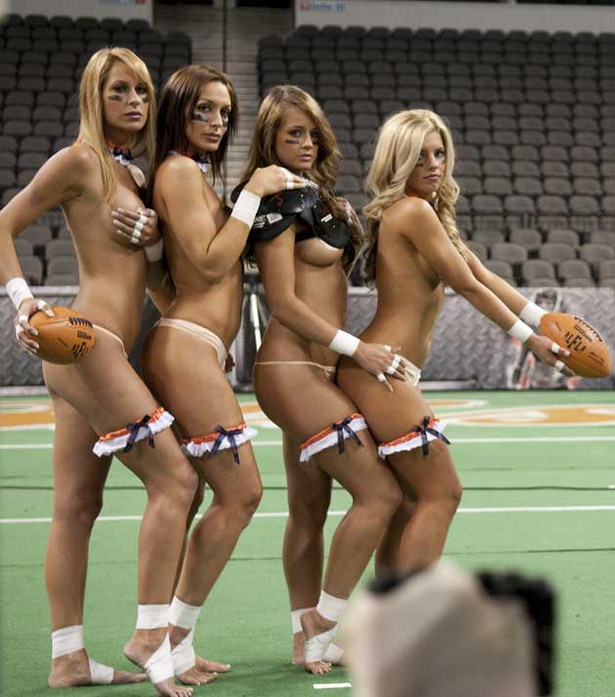 girls nude football Lingerie