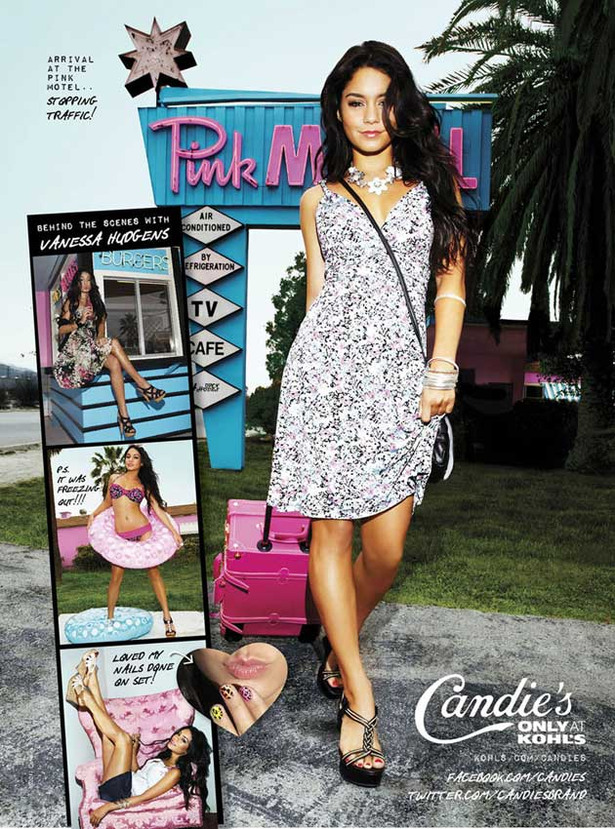 Vanessa Hudgens is a Candies Girl