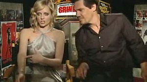 Grindhouse - Interview With Marley Shelton & Josh Brolin