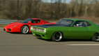 LMC Super Cuda Takes on an Enzo