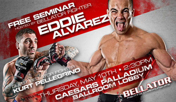 Bellator 68 seminar photo