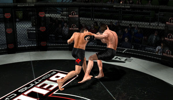 MMA Onslaught fighting