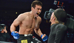 Hisaki Kato Lays Out Joe Schilling - The Bellator 139 Moment
