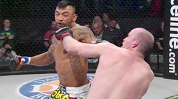 Liam McGeary's One-Punch Knockout - Bellator 118 Moment
