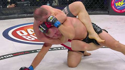 Halsey Chokes Out Shlemenko - Bellator 126 Moment