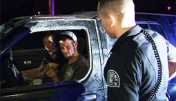 Suspect Caught Red-Handed In Stolen Car