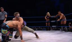 Mixed Tag Match: The Menagerie vs Jessie Godderz, DJ Z & Angelina Love