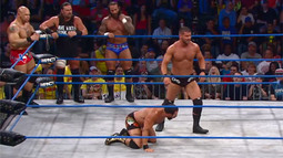 IMPACT WRESTLING Feature Match: Chavo Guerrero, Hernandez, James Storm & Gunner vs. Bobby Roode, Austin Aries & Bad Influence
