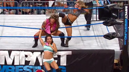 Hardcore Triple Threat Match: ODB vs. Mickie James vs. Gail Kim
