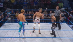 X Division Championship Three-Way: Sanada Vs. Tigre Uno Vs. DJ Z