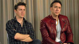 Nicolas Cage and David Gordon Green t
