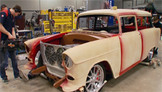 Search & Restore: '55 Chevy Handyman Wagon Part III
