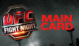 UFC Fight Night Live Blog - Main Card